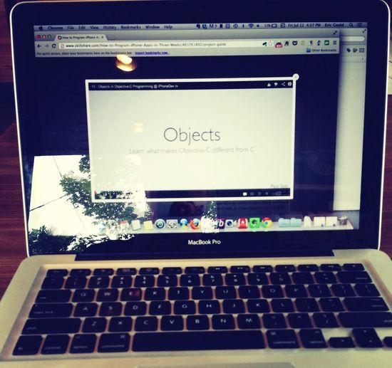 Learning iOS development, friday, july 12, 2013