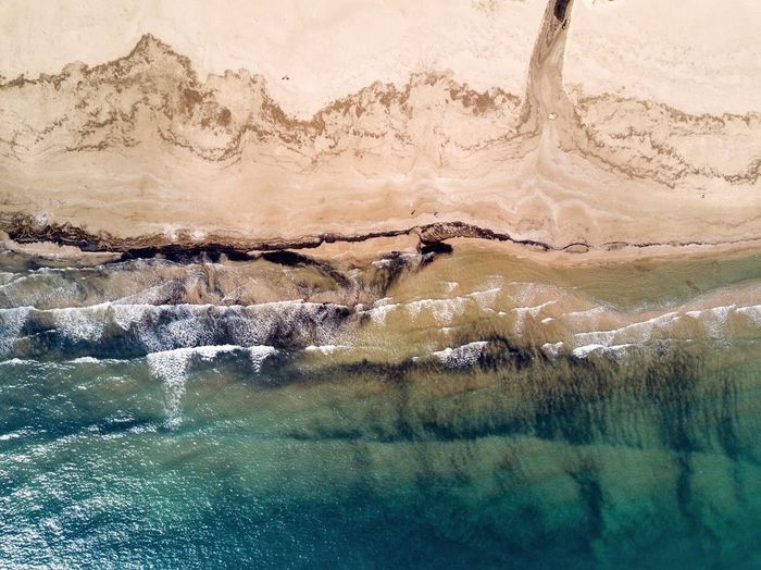 Distant shores Water Waterfront Nature Beauty In Nature Day Motion Outdoors No People Scenics Power In Nature Waterfall Drone  Comunitat Valenciana València Dronephotography Aerial View Mediterranean  Fresh On Market 2017