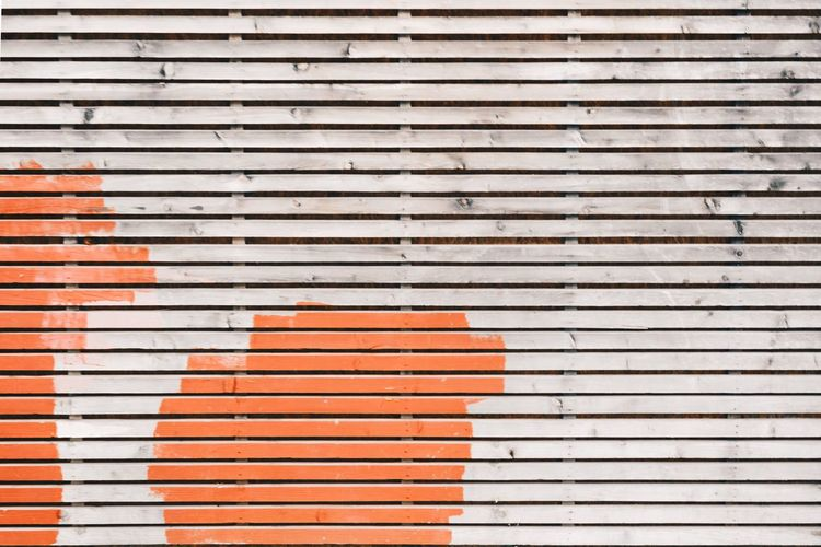 Striped Shutter Pattern Backgrounds Abstract Outdoors Full Frame Paint Day No People City Architecture Close-up