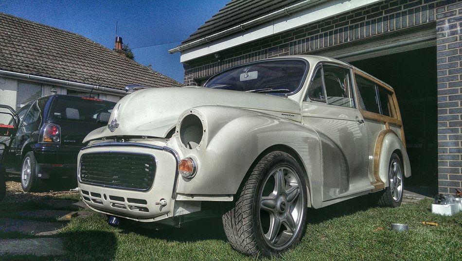 Morris Minor Restoration In Progress Classic Car British Car Porn Vintage Cars Rebuild  Time Hdr Edit For The Love Of Snapseed