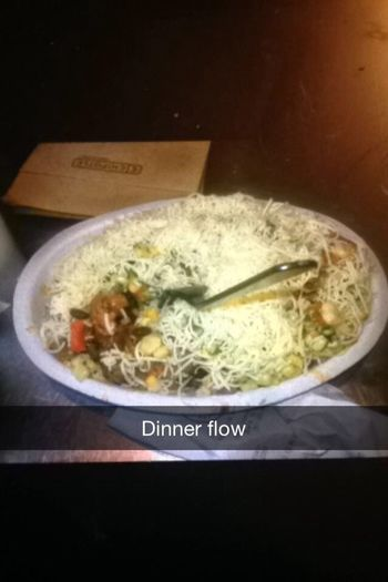 Chipotle Dinner Flow