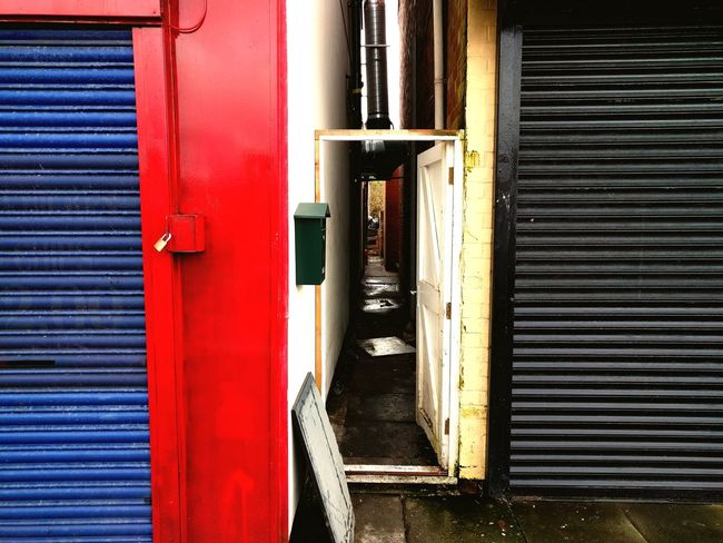 Building Exterior Built Structure Door Architecture Red Outdoors House No People Day Corrugated Iron