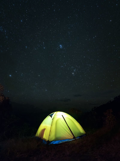 Camping Adventure Astronomy Astrophotography Beauty In Nature Exploration Fish-eye Lens Galaxy Landscape Low Angle View Milky Way Nature Night No People Outdoors Scenics Sky Space Exploration Star - Space Star Field Starry Tent Fresh On Market 2017