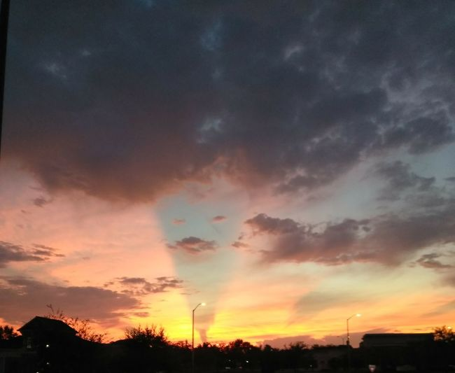 This is a wicked sunset