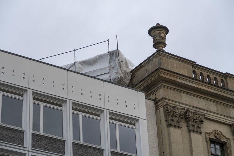 Architectural Feature Architecture Berlin Builldings Low Angle View Old And New Old And New Architecture Rooftop