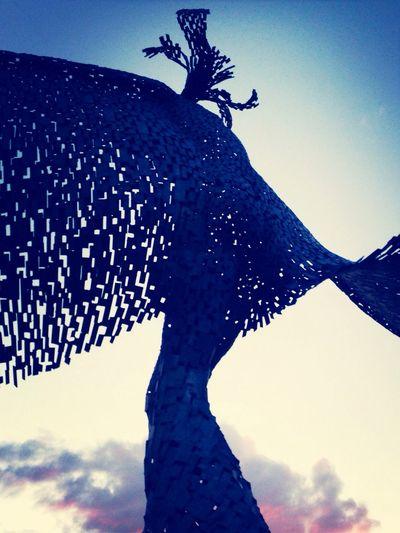 Walking Around Escaping Sculpture
