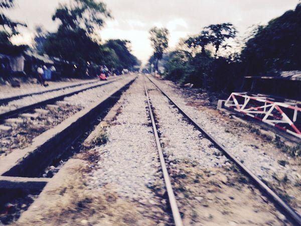 Vanishing Point Trainway Yangon, Myanmar