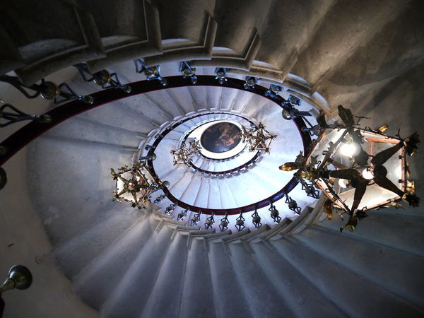 Directly Above Indoors  Spiral Spiral Staircase Staircase Steps And Staircases The Way Up
