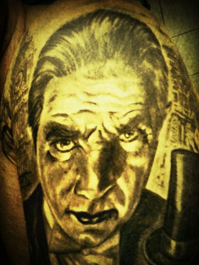 Bela Lugosi Tattoo Artist I Like