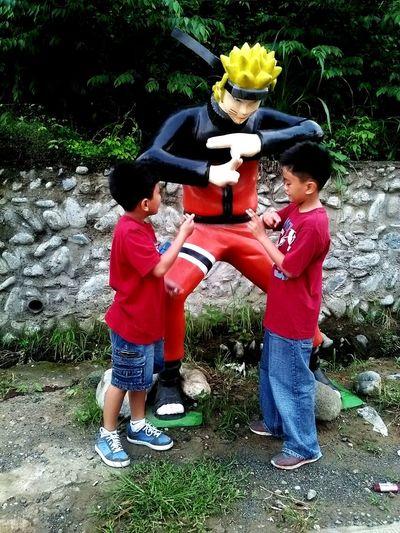 Bros and Naruto Enjoying Life Mi Familia❤❤
