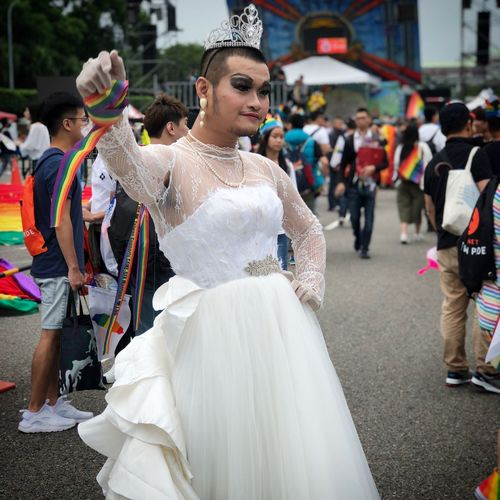You Go Girl Wedding Bride Celebration Celebratepride Formosa Pride Taipei Pride Love Is Love ❤ Celebration Lgbt Pride Love Is Love