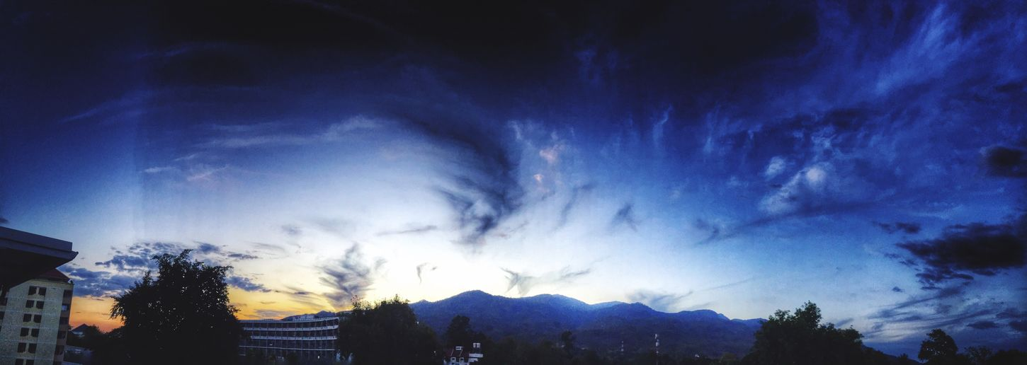 Panorama Evening Sky Sky And Clouds Clouds And Sky Blue Sky Nature EyeEm Nature Lover Nature_collection 31 On December Evening Time