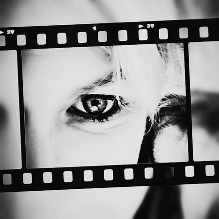 black Black And White Eyse Moments Thats Me  Film