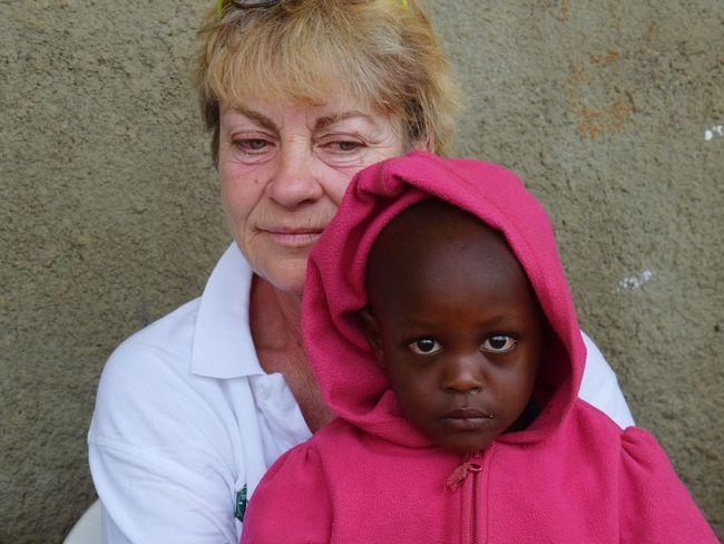 Burunga Uganda Woman Portrait Childhood Portrait Child Cute Looking At Camera Close-up This Is My Skin