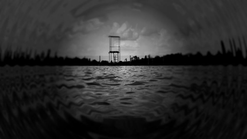 EyeEm Man Blackandwhite Photography Black And White Water Water Tower - Storage Tank Lighthouse Sea Beach Puddle Tower Sky Architecture Built Structure My Best Travel Photo