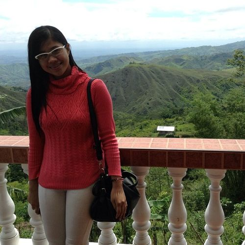 just had a relaxing weekend. Thanks to this pretty view ??? Aliceloghouse Marilog Mountains Relaxation weekend nofilter