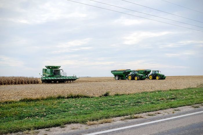 Camera Work - Southeast Nebraska October 2016 A Day In The Life Agriculture Camera Work Colors And Patterns Crop  Cultivated Land Everyday Lives Eye For Photography EyeEm Best Shots EyeEm Gallery Eyeem School Of Photography EyeEmBestPics Fujifilm Green Color Harvest Time Land Vehicle Landscape Nebraska On The Road Photo Essay Photography Rural America Rural Scene Selects Small Town