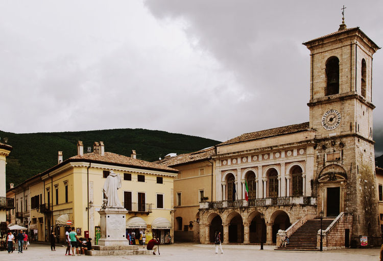 Architecture Beautiful Place Building Exterior Day History Architecture Italia Italy Landscape Memories Norcia Outdoors Travel Travel Destinations Travel Photography Umbria