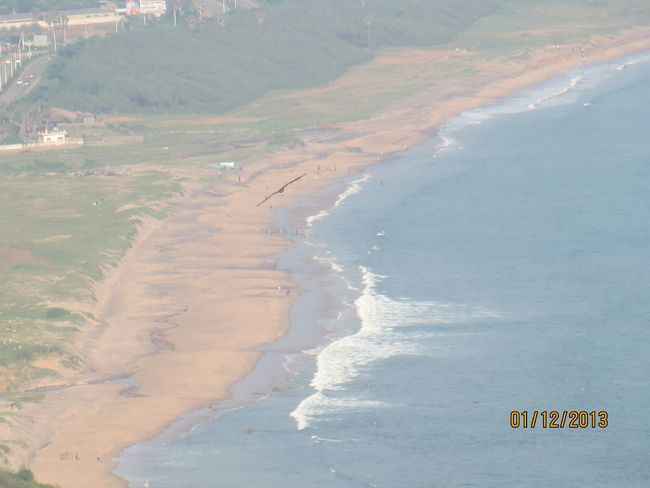 The Vizag beach!