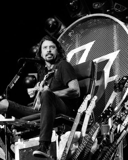 FooFighters Black & White