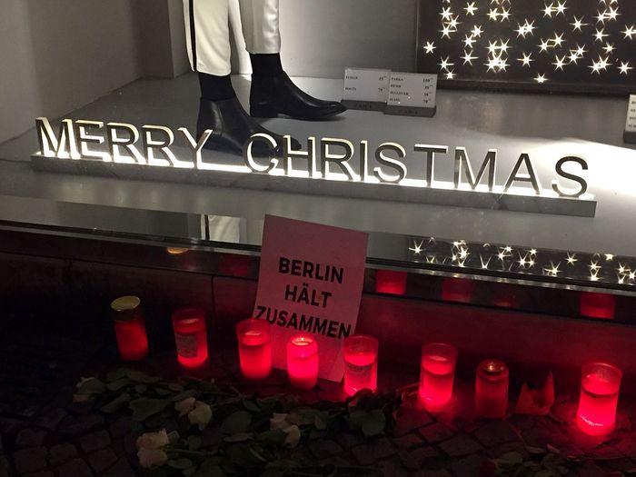 Breitscheidplatz Incident Sympathy Mourning 19.12.2016