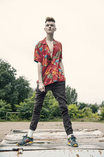 This is Masculinity – Andreas in Berlin Androgyny Cloudy Day Daytime Fashion Proud Stylish This Is Masculinity Allgenders Boy Fashion Photography Fashionable Frontal Gay Gingerhair Leasure Activity Lifestyles Menswear Model Outdoors Skinny Streetphotography Streetstyle Summer Urban Urban Skyline