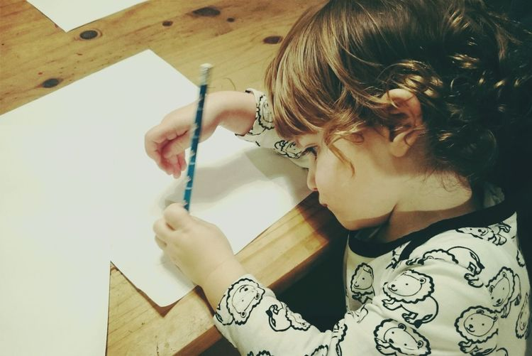 Starting Out. Kids OpenEdit Pencil Drawing Imagination Moments Thoughts NewThings Toddler  Toddlerlife Son Candid