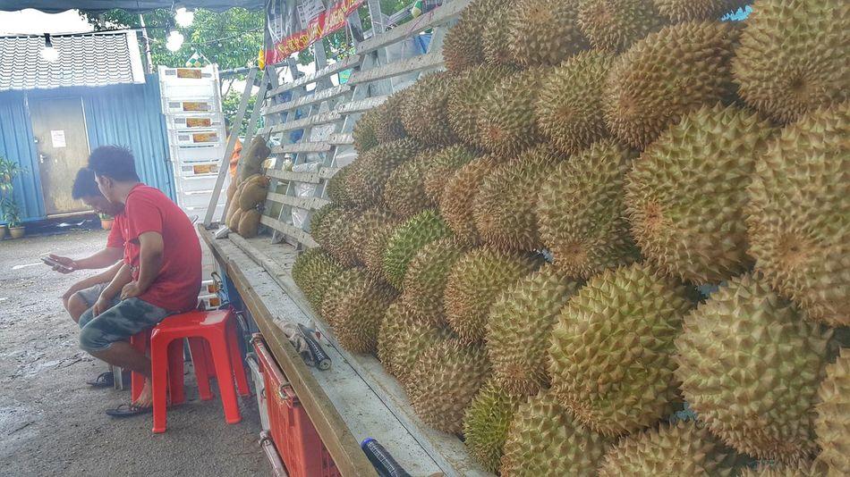 Durian Fruit Fruitporn Fruit Seller Fruit Stall Durians Shop