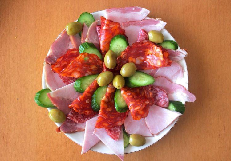 Food Colors Meat Details