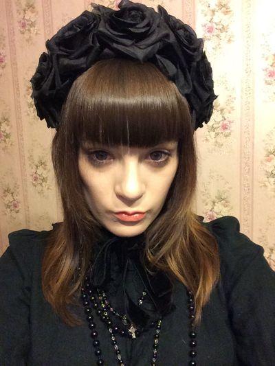 Beautiful Black Hair Cute Face Japan Street Fashion Lolita's Closet Vintage Young Women First Eyeem Photo