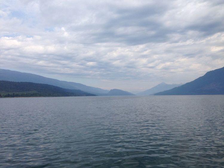 Ferry Crossing Road Trip Lake Beautiful British Columbia