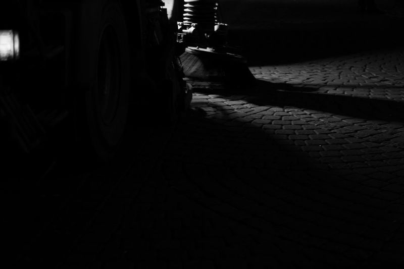 Trash Urban Night Life Waste Night City Blackandwhite Altstadt Düsseldorf Cleaning Light And Shadow Cleaning Up! Black And White No People Sweeper Welcome To Black The Secret Spaces The Street Photographer - 2017 EyeEm Awards