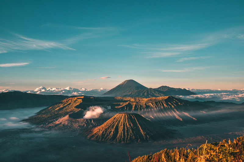 The amazing bromo mountain