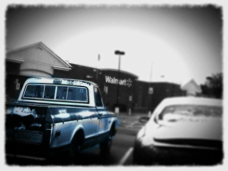 Black&white Walmart Redo Bored