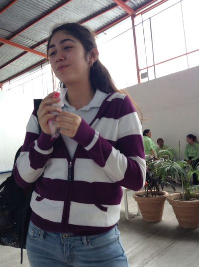 When your friend takes pictures of you while eating, lol. Infraganti