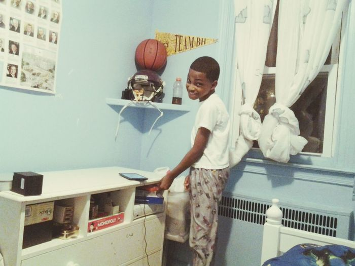 georgey I Love This Kidd ! #MyLilBro :))