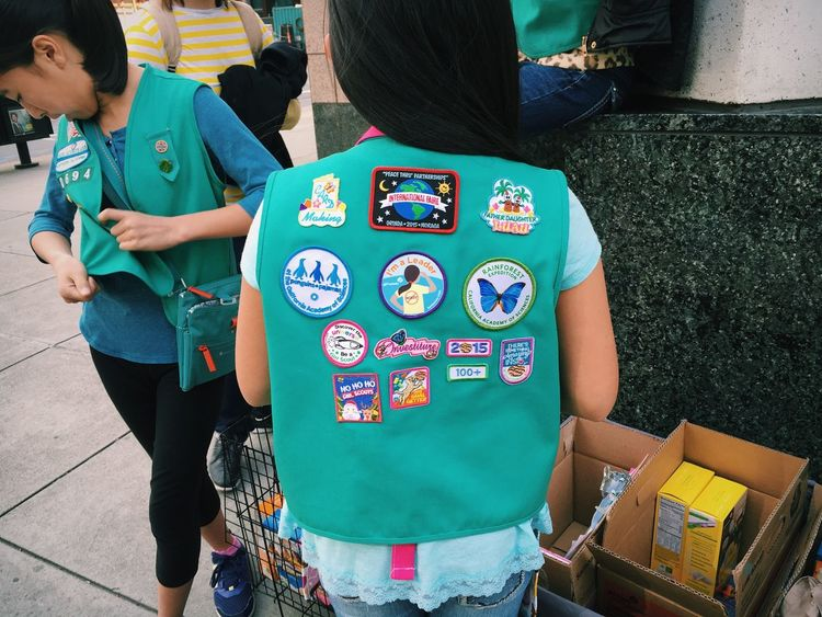 Girl Scouts Girl Scout Cookies Patches Fashion