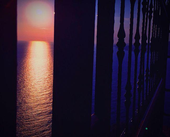Sunset Freedom Prison Sea And Sky Nature Photography Nature Multi Colored Sea Castle