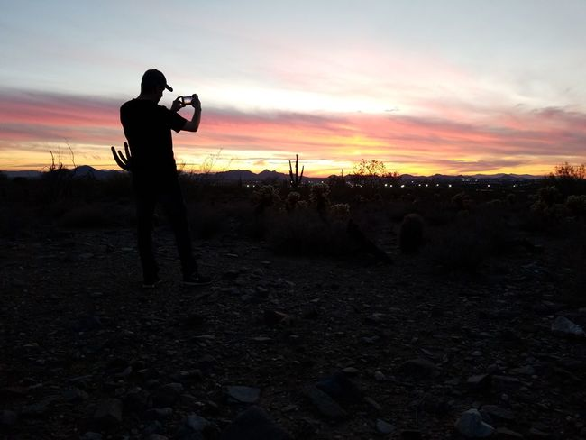 Purist. Too easy. Klique Klique Samsungphotography Backgrounds GUCCI Hello World EyeEm Selects Saguaro Silhouette Adult One Man Only Adults Only One Person People Only Men Sunset Politics And Government Men Outdoors