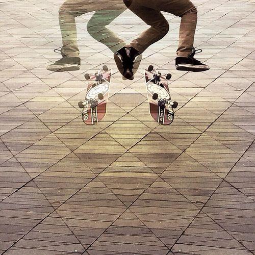 Skateboard Skateboarding Streetphotography Urban Geometry
