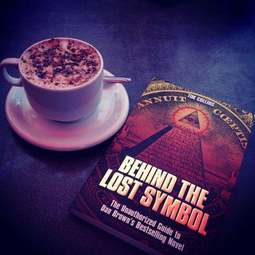 Book Coffee Masonic Illuminati