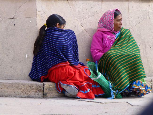 Mexico Copper Canyon Tarahumara Tarahumaras Raramuri Raramuri Tarahumara People Colourful Clothing