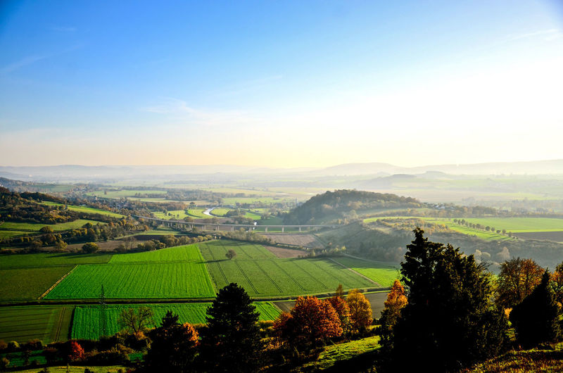 Agriculture Beauty In Nature Countryside Day Einbeck Field Growth Hoffi99 Landscape Lower Saxony Mountain Nature No People Outdoors Rural Scene Scenics Sky Tree