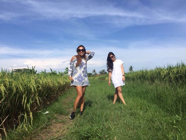 Relaxing Girlstime  Ricefields