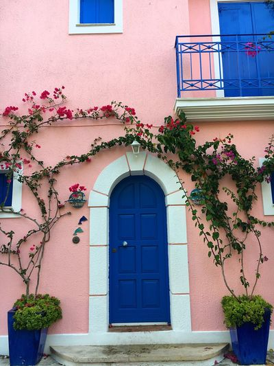 Cute pink house
