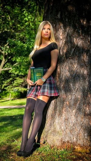 Best Model, Student Girl Russian Girl College Girl  Blonde Color Beauty