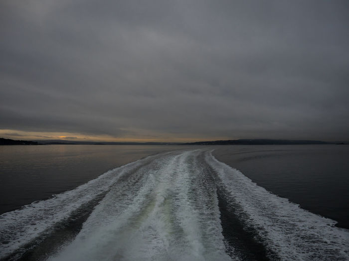 Fast across the Oslo fjord in the morning light Across The Fjord Ferry Ride Ferry Views Fjords Fjords Of Norway Fjordsshot Morning Light Morning Sky Morning Sunrise Norway Oslo Fjord Oslo, Norway Outdoors Scandinavia Seascape Sky Speedy Ferry Water An Eye For Travel