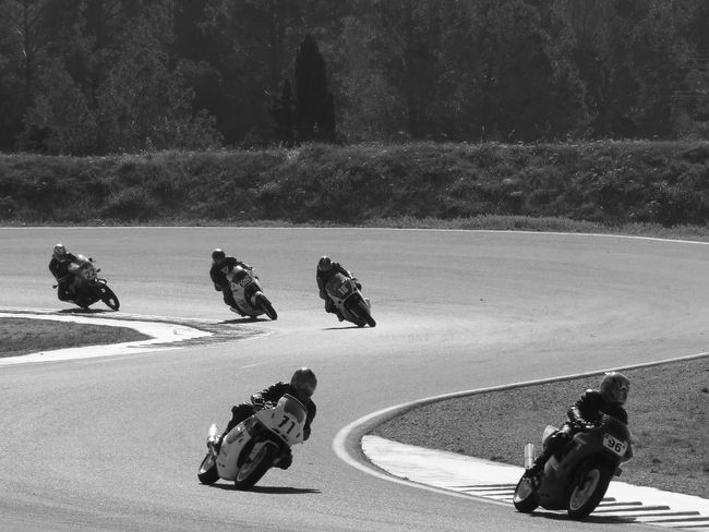 Motorcycle Race Black And White Competition Competition Day Day Double Curve Monochrome Outdoors People Welcome To Black Five People
