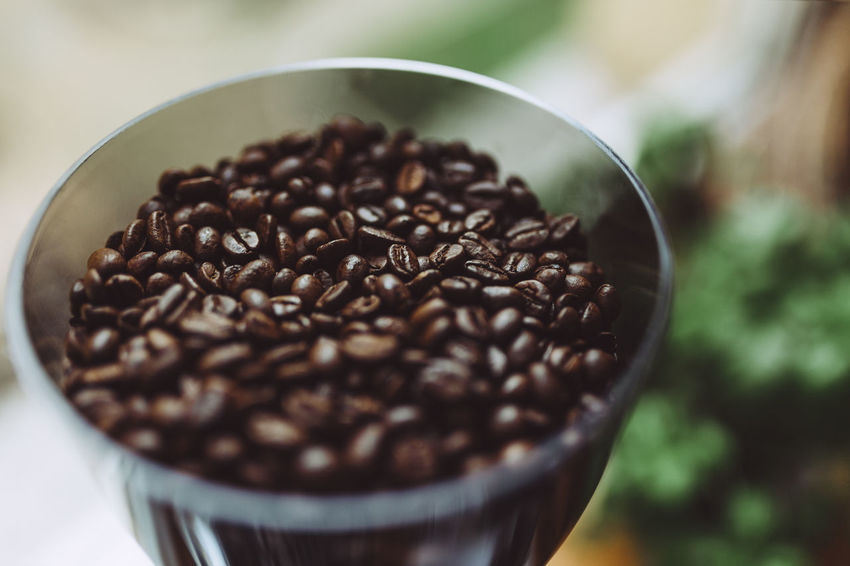 Beans Coffee Cafe Coffee - Drink Coffee Bean Freshness Indoors  No People Roasted Coffee Bean Selective Focus Fresh On Market 2017