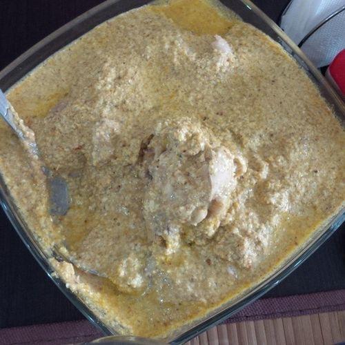 сацыви - грузийнейший соус с мясом курицы